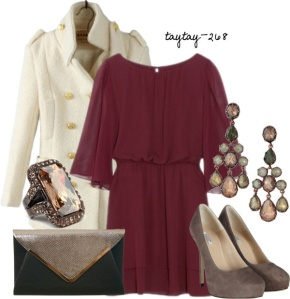 Dress and outfit pinned from Polyvore
