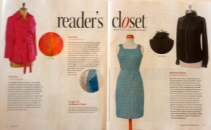 Reader's Closet spread issue #174