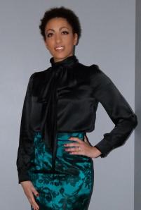 McCalls 6650 blouse and Butterick 5466 skirt
