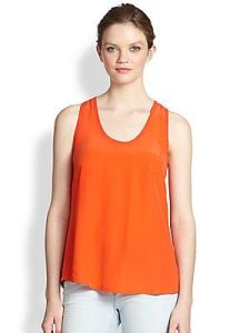 Joie Silk Tank Top $138