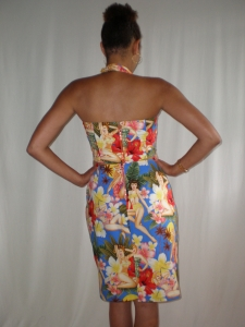Back of top & skirt