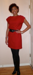 made from Butterick 5211 pattern