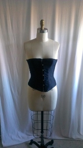 Front (busk) of corset