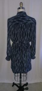 Back view of Vogue 8847 dress