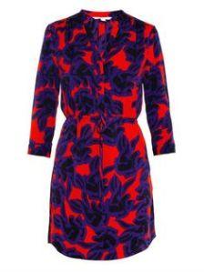 DVF Silk Freya dress $398