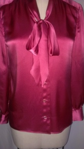 Front buttons of blouse