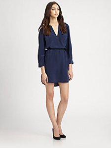 "Joie ""Marlola"" silk shirtdress $358"