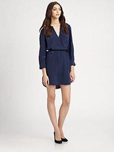 "Joie ""Marlola"" silk shirtdress $358"