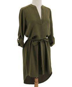 Open placket dress Zulily