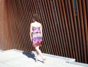 Gathered Tube Dress #165