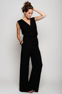 Piper Gore knit jumpsuit with pockets