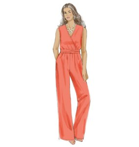 McCalls 7135 Jumpsuit view C