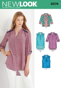 Pattern cover for New Look 6374