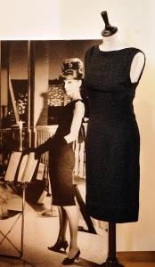 LBD sheath influenced by Audrey Hepburn