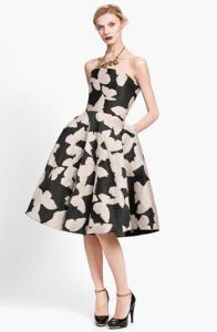 Lanvin Jaquard Dress