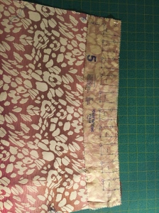 Pleat Guide Pattern Piece
