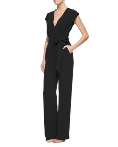DVF Purdy Crepe Jumpsuit $468