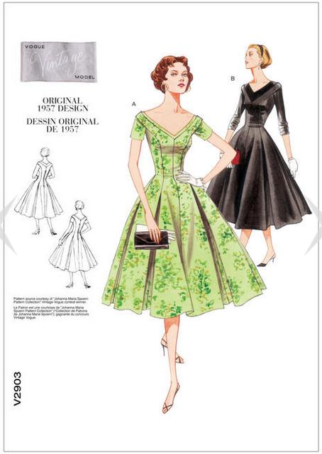V2903_Dress_Pattern