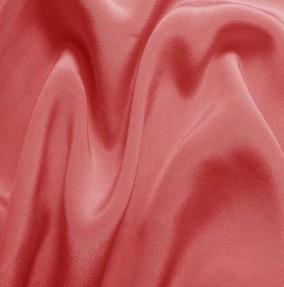 coral pink silk crepe de chine